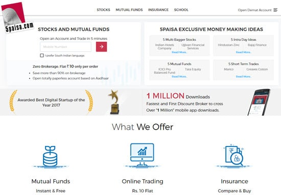 5Paisa Demat and Trading Account in India