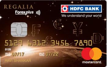 HDFC ForexPlus Cards