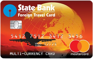 Sbi global card vs forex card