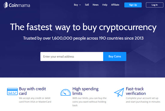 Coinmama Indian Bitcoin Exchange