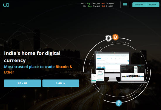 Unocoin Indian Bitcoin Exchange