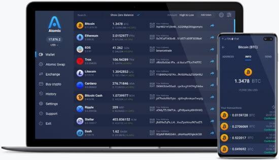 Atomic Cryptocurrency Desktop Wallet