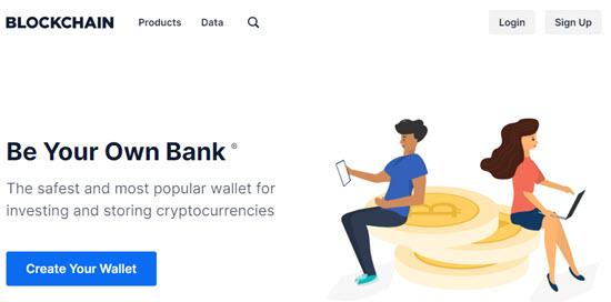 Blockchain Web Wallet
