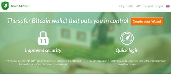 GreenAddress Web Wallet