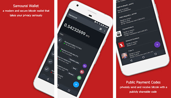 Samourai Cryptocurrency Mobile Wallet
