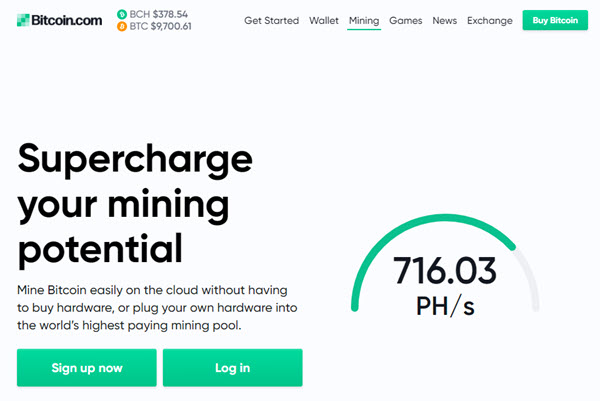 Bitcoin Pool Cryptocurrency Mining Contracts