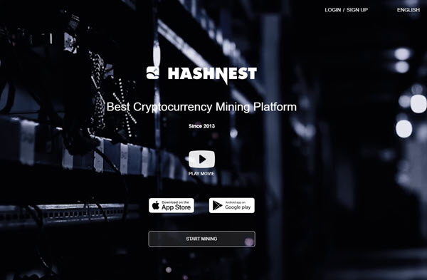 Hashnest Cryptocurrency Mining Contracts
