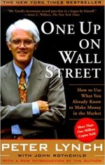 One Up On Wall Street Stock Investing Book